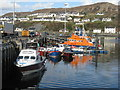 NM6797 : Mallaig Harbour and Lifeboat by M J Richardson