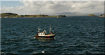 NM8529 : Looking over Oban Bay by Hugh Close