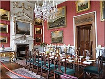 SE7170 : Crimson Dining Room, Castle Howard by Derek Voller