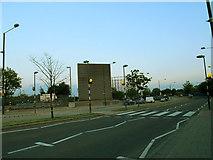 TQ3979 : Zebra crossing on Millennium Way by Stephen Craven