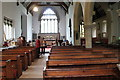 TF0897 : Interior, St Luke's church, Holton le Moor by J.Hannan-Briggs
