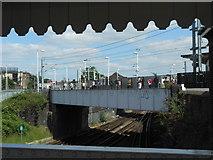 TQ2182 : Willesden Junction high-level platforms by Andrew Wilson