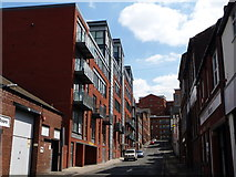 SK3587 : Sheffield: Bailey Street by Chris Downer