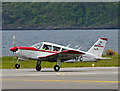 NM9035 : G-AWFC departs from Oban Airport by The Carlisle Kid