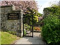NS4763 : Entrance to Garden of Remembrance by Lairich Rig