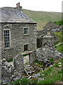 SD6998 : Ruined outbuilding, Mountain View, Westerdale by Karl and Ali