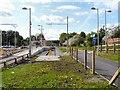 SJ8590 : East Didsbury Tram Terminus by Gerald England