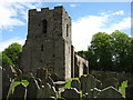 NY3259 : St Michael's church, Burgh by Sands by David Purchase