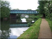 TL3706 : Bridge over the River Lee Navigation near Broxbourne by Malc McDonald