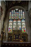 SP0202 : Altar, St John the Baptist, Cirencester, Gloucestershire by Christine Matthews