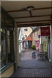 SP0202 : Alleyway from Castle Street, Cirencester, Gloucestershire by Christine Matthews