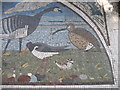 NY2262 : Mosaic at the Path Pavilion, Bowness-on-Solway (east) by David Purchase