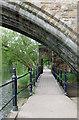 NZ2742 : Riverside walkway by Pauline E