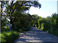 TM4481 : Entering Stoven on Wangford Road by Adrian Cable