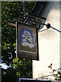 TM4481 : Cherry Tree Public House sign by Adrian Cable