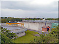 SJ9397 : Dukinfield Sewage and Water Treatment  Plant by David Dixon