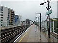 TQ3776 : DLR at Deptford Bridge by Ian S