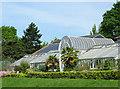 SP0485 : Glasshouses at Birmingham Botanical Gardens by Roger  Kidd