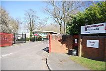TQ5571 : Clancy Docwra, Hawley Mill by N Chadwick