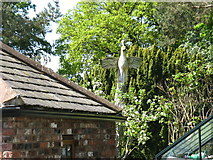 NY4157 : A tree sculpture at Rickerby House by David Purchase