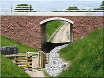 NY3756 : Underpass on the new A689 Carlisle Western By-pass by David Purchase