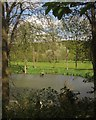 TQ4070 : Lake, Sundridge Park Golf Course by Derek Harper