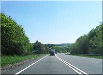 NY6565 : A69 eastbound by Alex McGregor