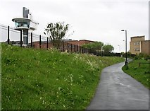 NZ3065 : The start of the Hadrian's Wall Path in Wallsend by David Purchase