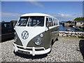 D0345 : Volkswagen Camper Van, Ballintoy by Kenneth  Allen
