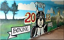 J4073 : Mural, Tullycarnet, Dundonald (1) by Albert Bridge