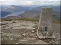 NN3602 : The Triangulation Pillar, Ben Lomond Summit by Mick Garratt