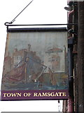 TQ3480 : The Town of Ramsgate, Wapping High Street by Ian S