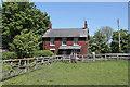 SD5910 : Fir Tree Farm House by Alan Murray-Rust
