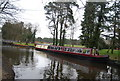 SU8955 : Narrowboat, Basingstoke Canal by N Chadwick