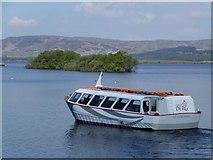 "H0873 : ""St. Columba"", Lough Derg by Kenneth  Allen"