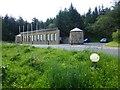 H0973 : Storage shed at Lough Derg by Kenneth  Allen