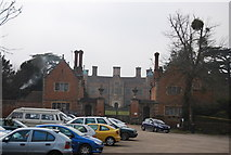 TR0653 : Chilham Castle and Gatehouses by N Chadwick