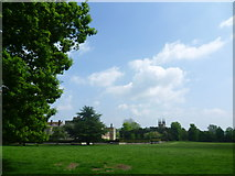 TQ5243 : Penshurst Place and Church seen from the park by Marathon