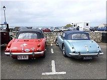 D0345 : Austin Healey cars, Ballintoy by Kenneth  Allen