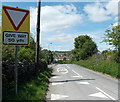 SO1600 : Bedwellty Road approaches Aberbargoed by Jaggery