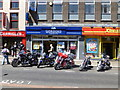 H4572 : Ballymoney Motorcyclists visit Omagh by Kenneth  Allen