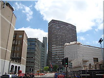TQ2879 : View of Portland House, Bressenden Place from Buckingham Palace Road #3 by Robert Lamb