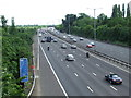 TQ0483 : M25 near Uxbridge by Malc McDonald