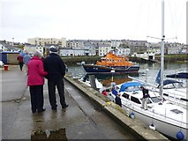 C8540 : On the quayside, Portrush by Kenneth  Allen