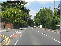 SO8277 : Franche Road (A442) at Broomfield Road by Peter Whatley