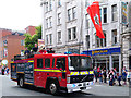 SJ8397 : Fire Engine on Deansgate by David Dixon