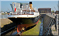 "J3575 : The SS ""Nomadic"", Belfast (2013-3) by Albert Bridge"