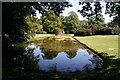 SK9339 : Mirror Pond in the Pleasure Grounds of Belton House by Graham Hogg