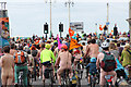 TQ3103 : Brighton Naked Bike Ride, King's Road by Oast House Archive