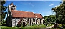 SU8695 : St Michael & All Angels, Hughenden by Len Williams